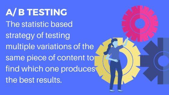 A B Testing for more website traffic