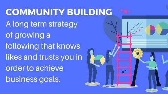Community building for more website visitors
