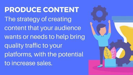 Create Content for more website traffic opportunities