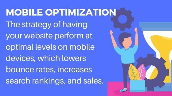 Mobile Optimization for better search rankings and traffic