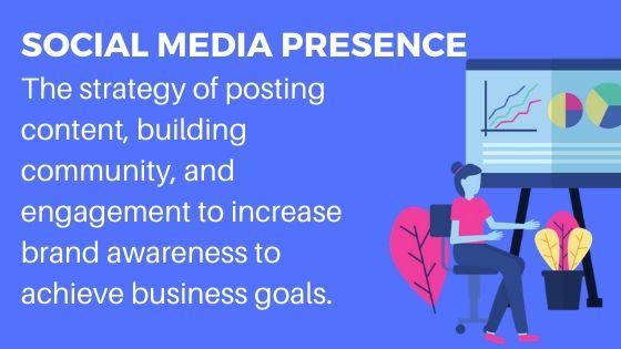 Use Social Media Presence for more site traffic