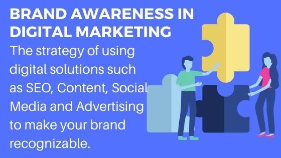 Brand Awareness in Digital Marketing