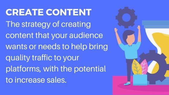 Create Content for Brand Awareness