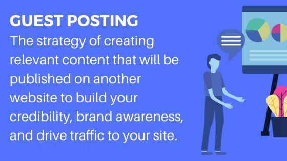 Guest posting for brand awareness