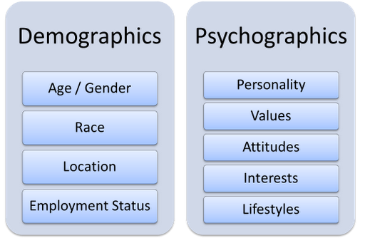 Neil Patel Demographics and Psychographics in Digital Marketing