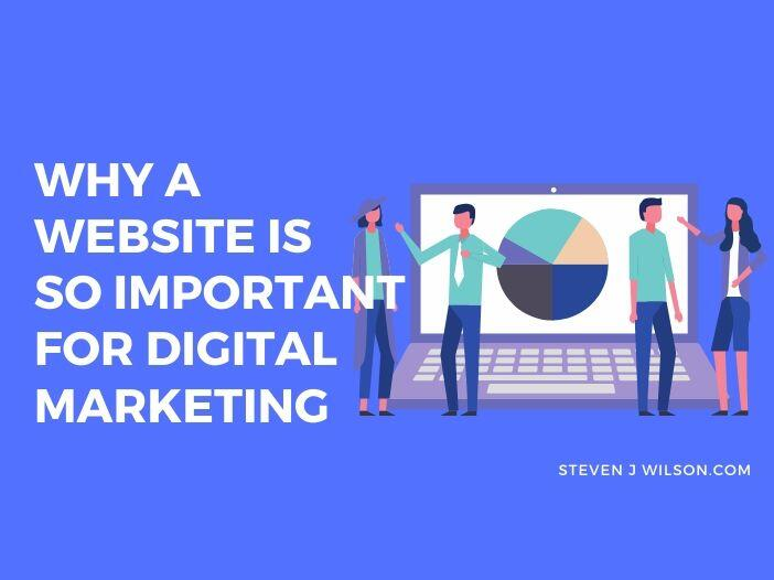 Why a Website is So Important for Digital Marketing