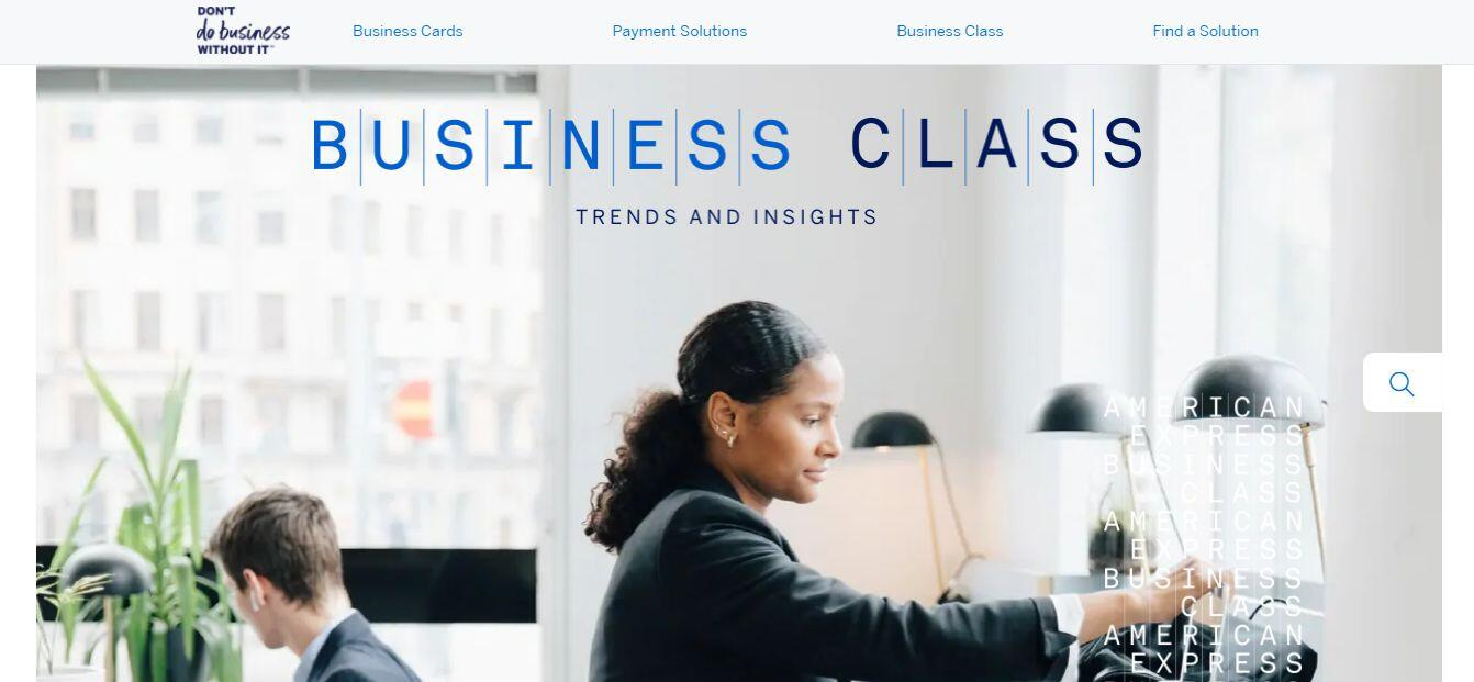 American Express Thought Leadership Content