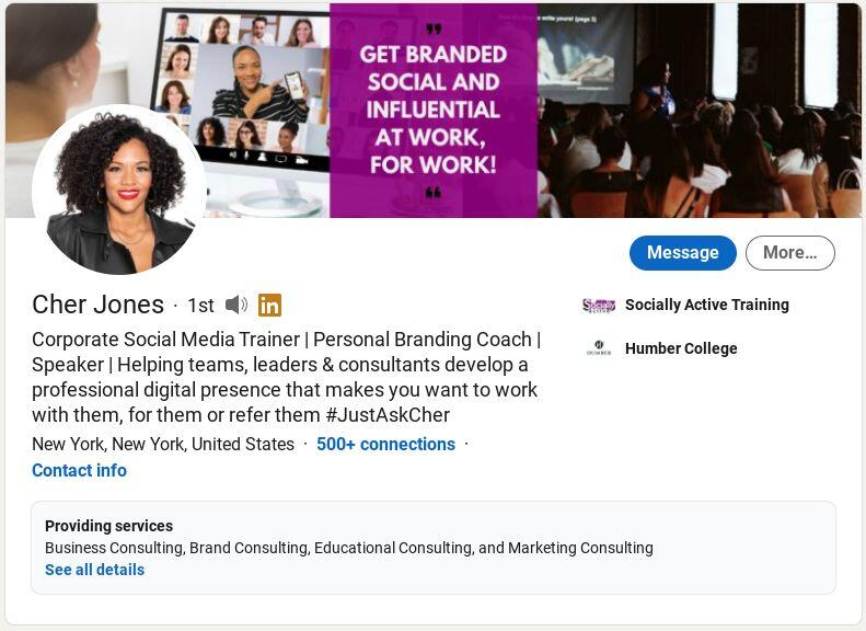 Cher Jones on LinkedIn